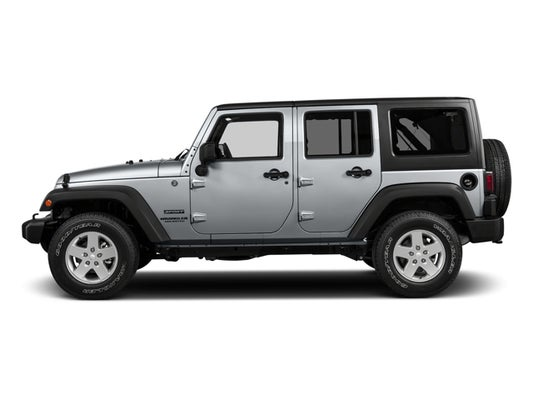 2016 Jeep Wrangler Unlimited Sport - Casper WY area